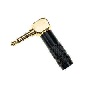 Угловой коннектор Oyaide OEM P3,5GL 4-pin Black