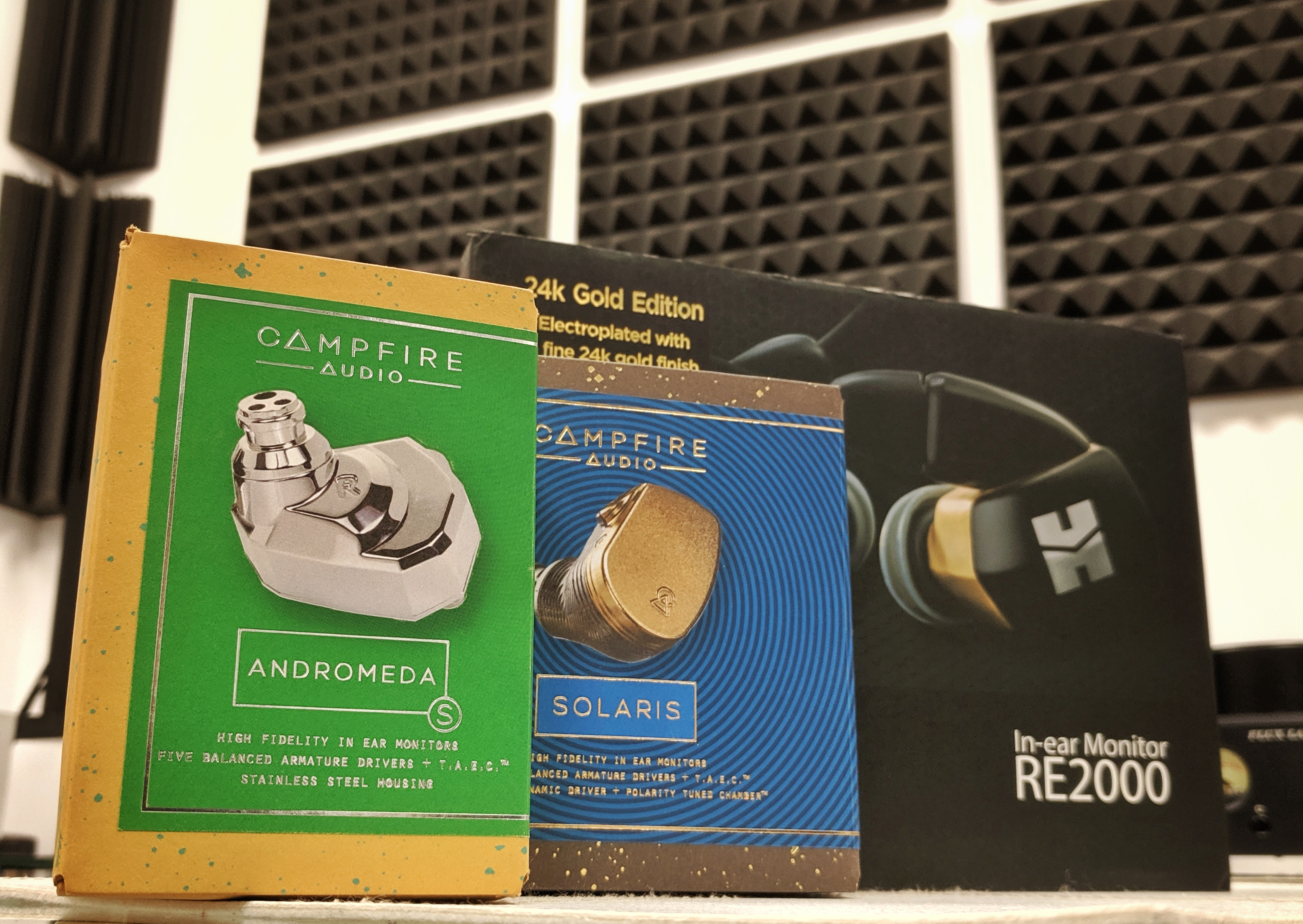 Сравнение флагманов. CA Solaris vs CA Andromeda S vs HiFiMAN RE2000.