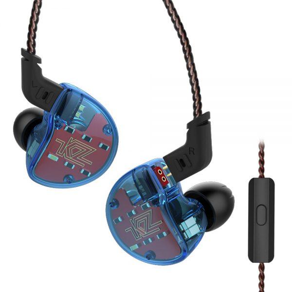 KZ ZS10 Blue с микрофоном
