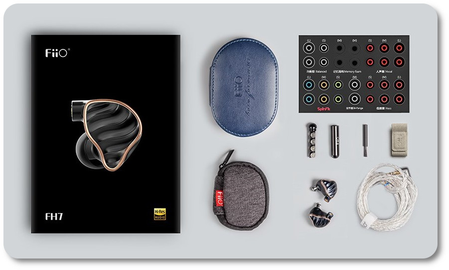 Fiio fh7 accessorise