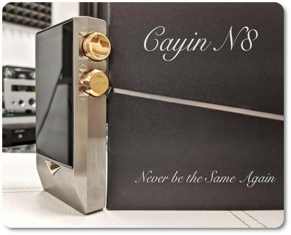 Cayin N8. Тварь ли я дрожащая, или право имею? (с)