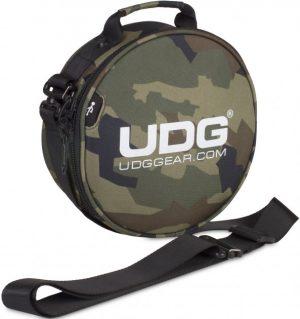 UDG Ultimate DIGI Headphone Bag Black Camo, Orange/ins