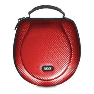 Creator Headphone Case Large Red PU