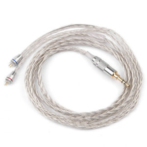 Кабель KZ A Braided Silver Cable 3.5 mm (ZS3/ZS5/ZS6)