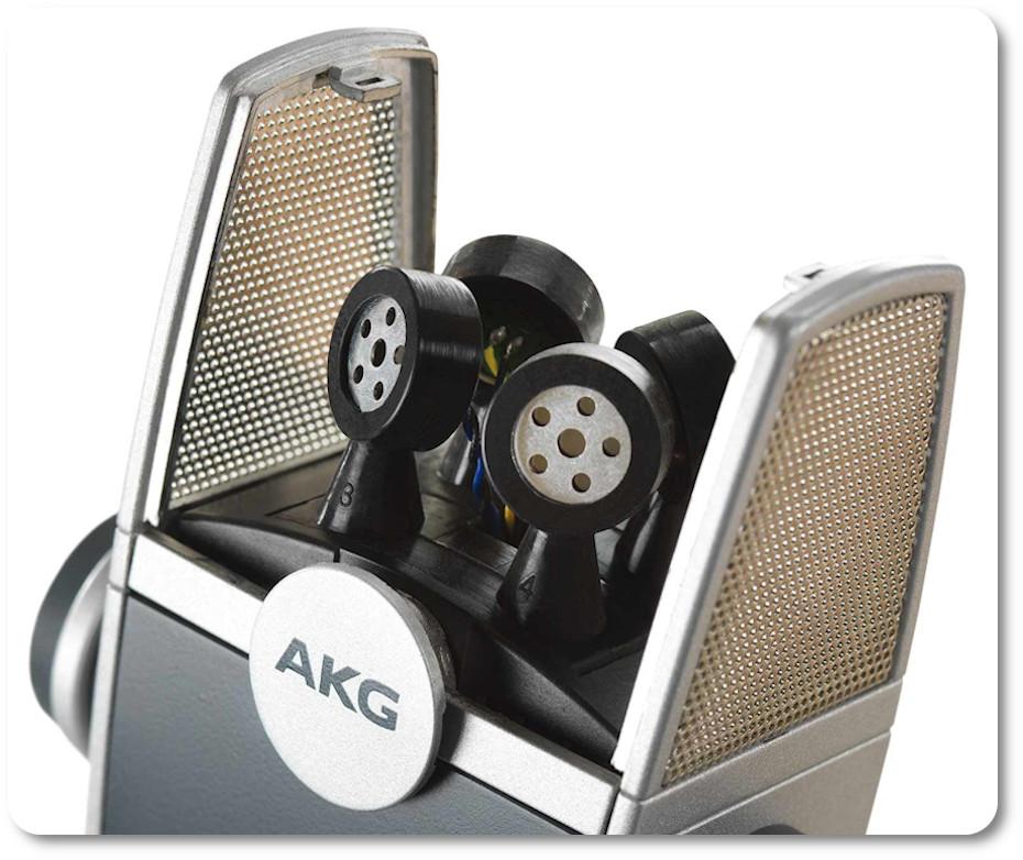 Система микрофонов Lyra Adaptive Capsule Array позволяет записывать во всех направлениях.