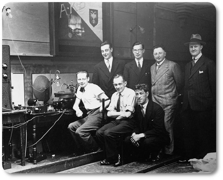 команда Beyerdynamic в 1924 году
