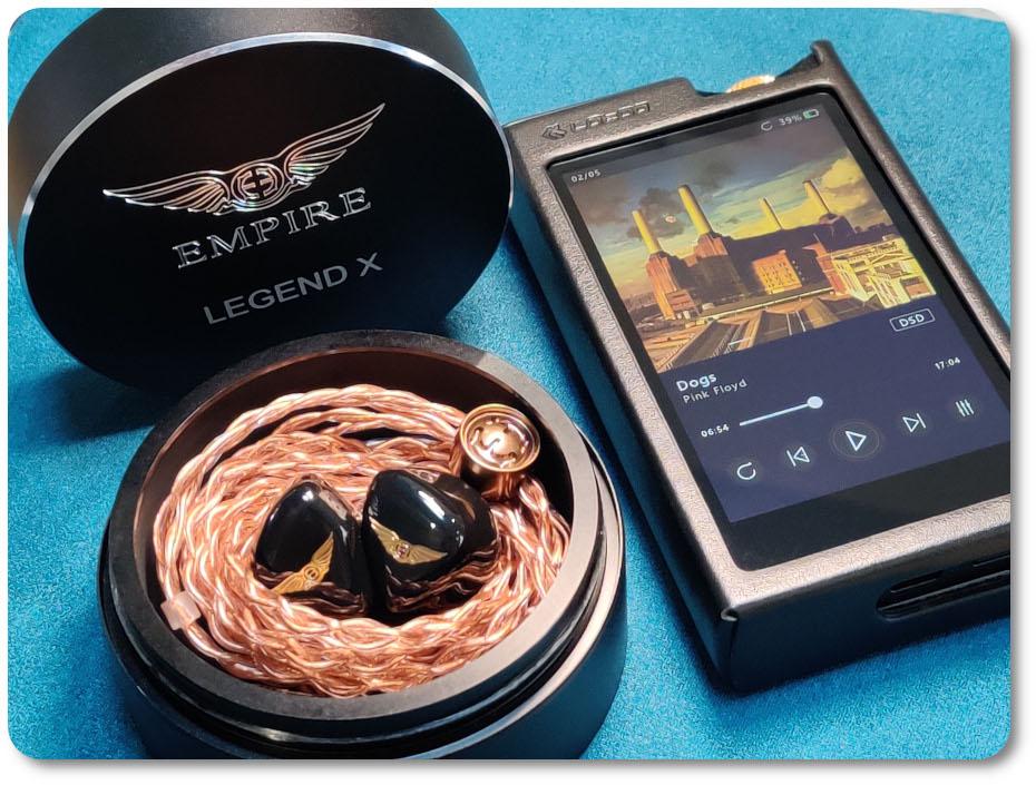 Empire Ears Legend X и lotoo paw 6000