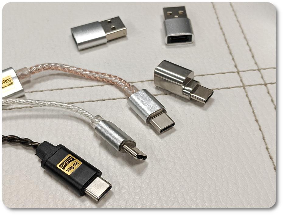 разъемы type C: iBasso DC02, iBasso DC01, Hidizs Sonata HD II, DD HiFi TC35B.