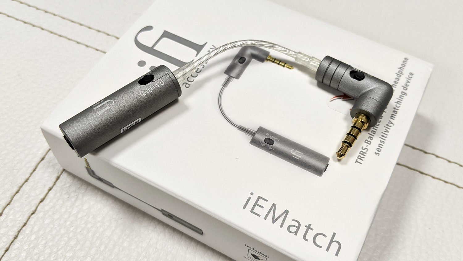 ifi iEMatch — Touch to Much