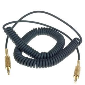 Спиральный AUX кабель Major OEM 3,5-3,5 мм
