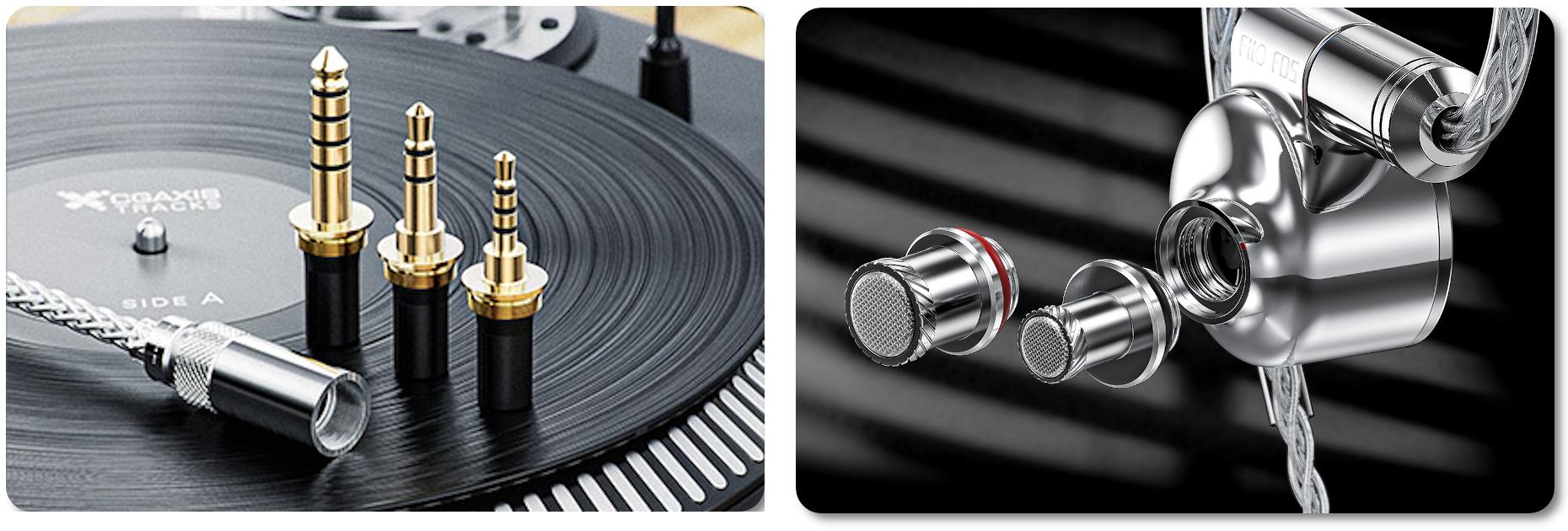 Сменные коннекторы и звуководы FiiO FD5