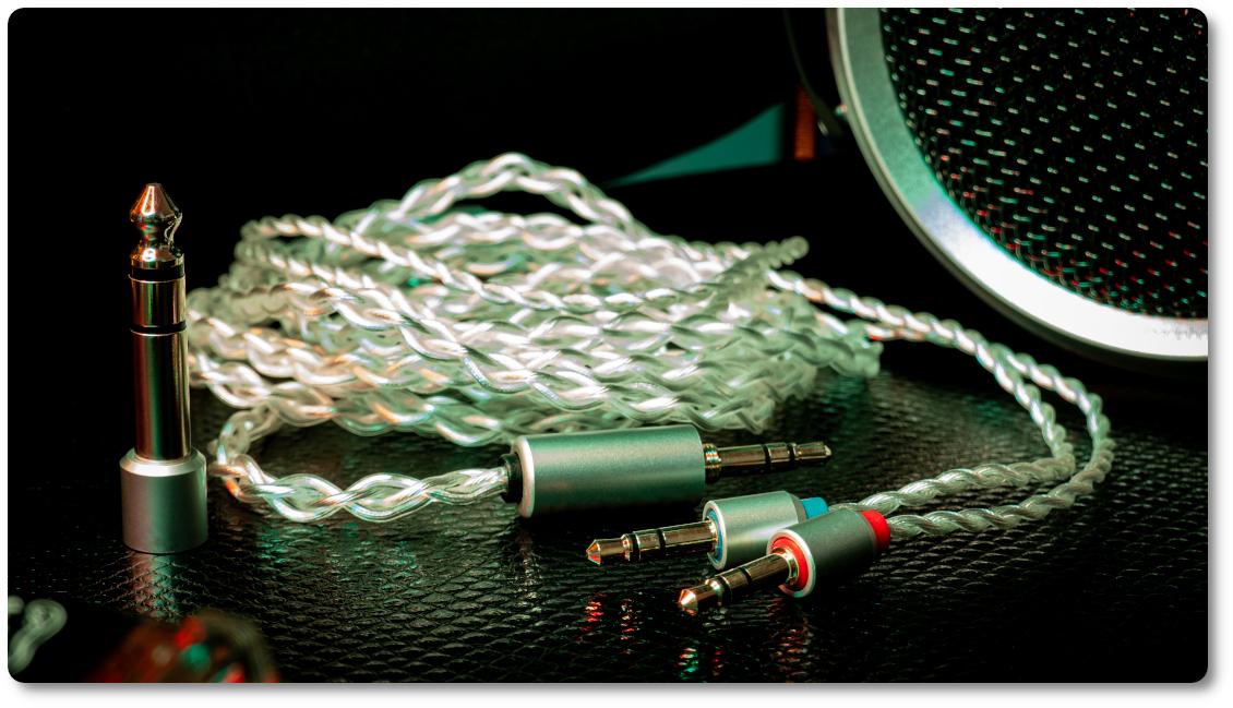 Комплектный кабель ibasso cb17 для наушников  sr2