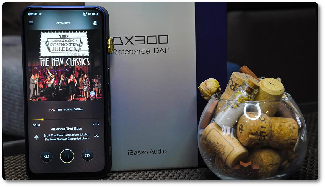как звучит ibasso dx300