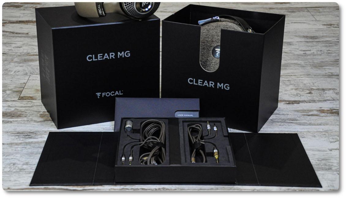 комплект поставки Focal Clear Mg