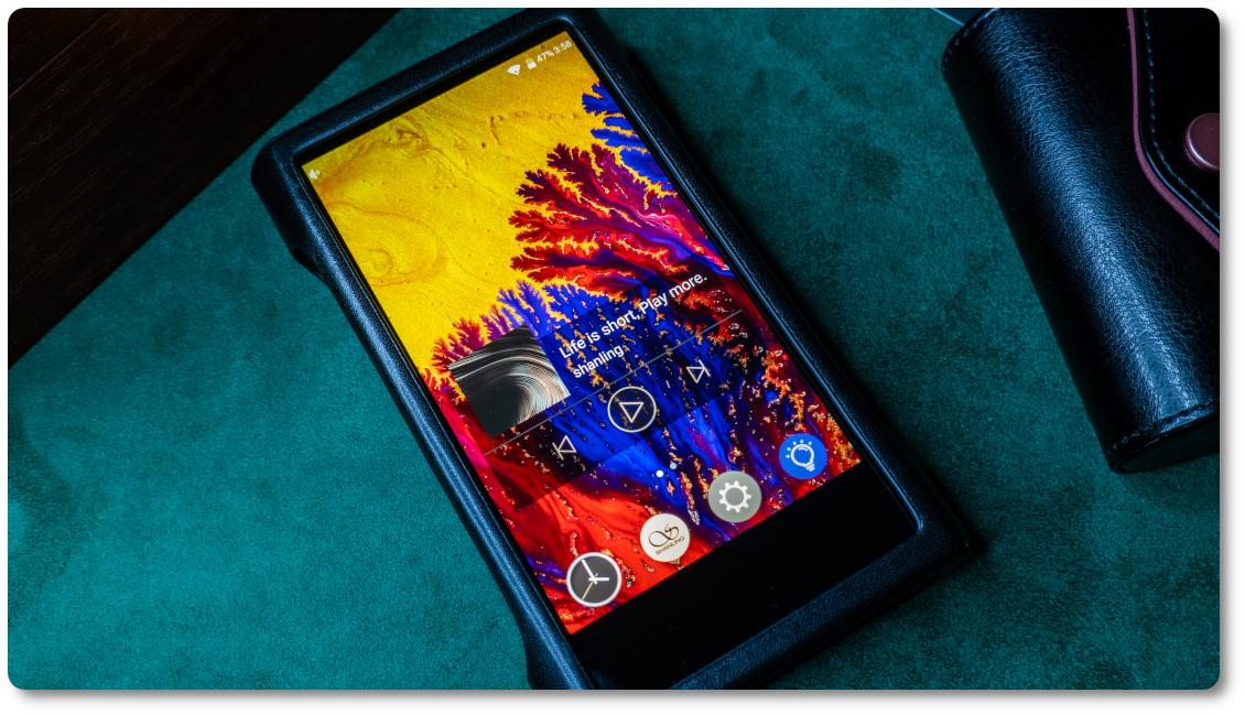 экран Shanling M8