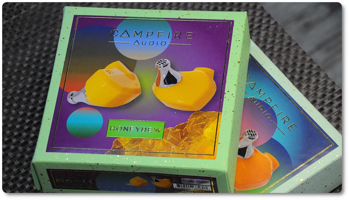 коробка Campfire Audio Satsuma и Honeydew