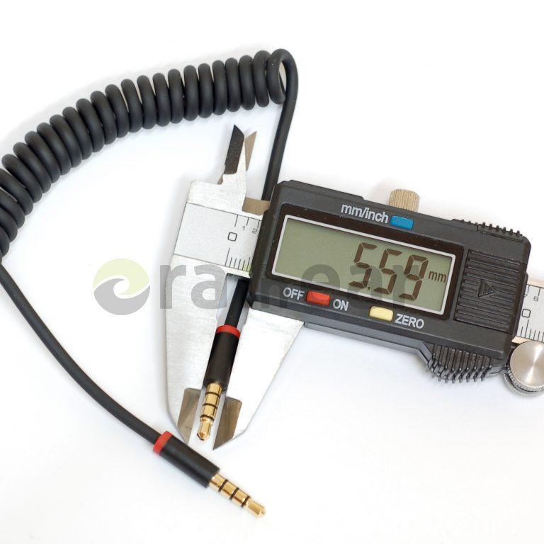 Спиральный AUX кабель