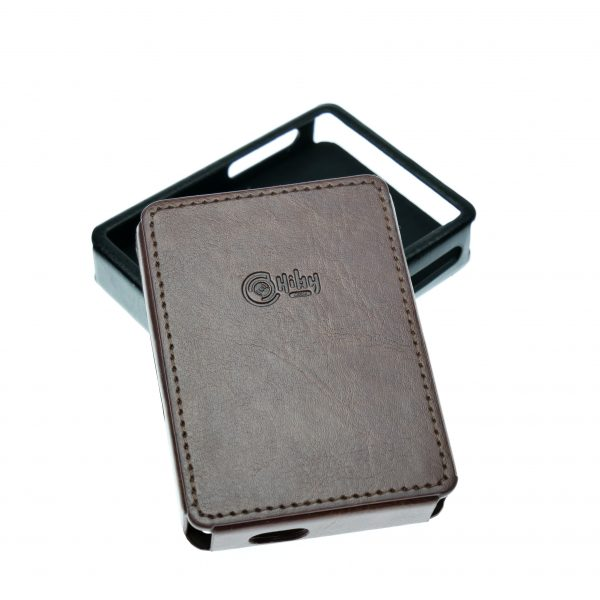 HiBy R3 Leather Case Brown