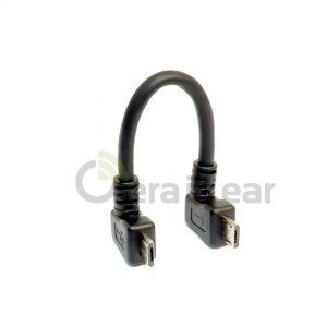 Кабель USB Micro to USB Micro for DAC (прямой/зеркальный) - Зеркальный