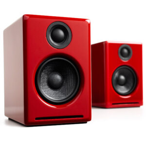 Audioengine A2+ Hi-Gloss Red