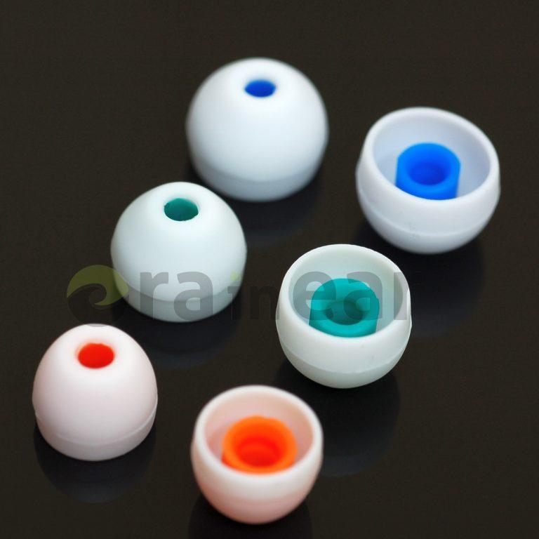 Набор силиконовых насадок Sony Hybrids OEM White