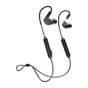 MEE Audio M6PROG2-BK with Bluetooth Adapter (CMB-M6PROBT-BK)