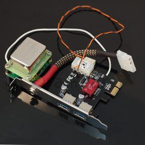 USB аудио выход Paul Pang USB Audio Card V4