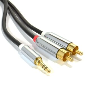Кабель Pro Audio Pro OFC 3,5mm Stereo Jack to 2 RCA 1 m