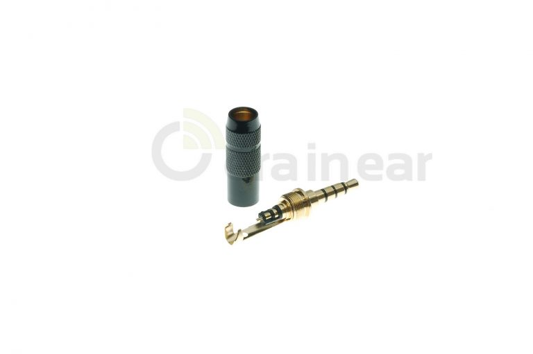 Коннектор Jack Oyaide OEM P3,5G Black 4 pin
