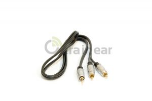 Кабель Pro Audio Premium Metal 3,5mm Stereo Jack to 2 RCA 1 метр