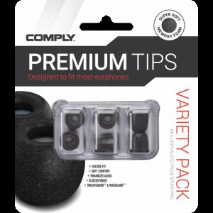Амбушюры Comply Variety Pack Pro — SmartCore (3 пары)