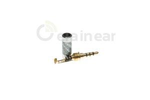 Коннектор Jack 3.5mm 4pin OEM Oyaide Grey-Carbon