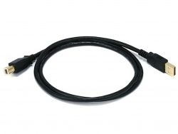 Кабель Monoprice USB 2,0 A Male to B Male