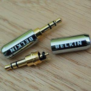 Коннектор 3,5 мм, стерео 3-pin BELKIN