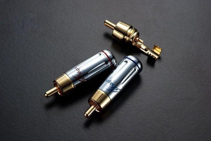 Коннектор MPS Bead RCA 6,0 мм (пара)