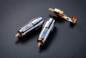 Коннектор MPS Flat RCA 8,0 мм (пара)
