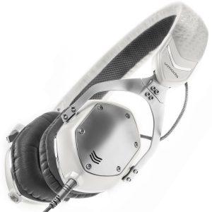 V-moda XS Collapsible White Silver