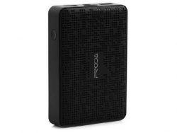 Внешний аккумулятор 12000 mAh Remax Proda Pure, Black